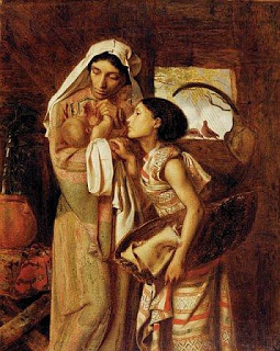 s4-simeon-solomon-english-pre-raphaelite-painter-1840-1905-mother-of-moses-1860